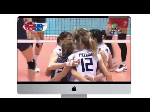 [Set 1] Italy vs Korea   Volleyball Olympics 2016   Women's Qualification