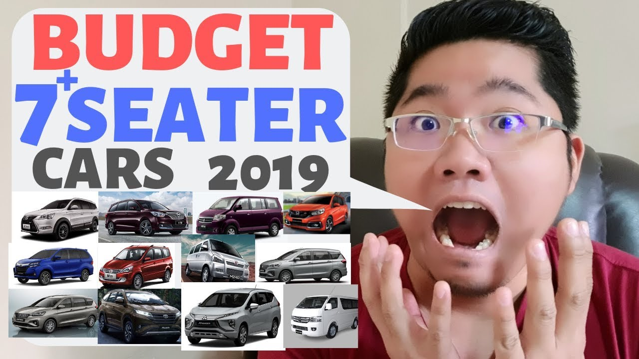 Budget 7 Seater Cars In The Philippines 2019 Youtube