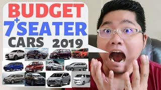 Budget 7 seater cars in the Philippines 2019