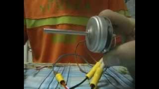 Мой самодельный бк мотор из CD-ROM для авиамодели