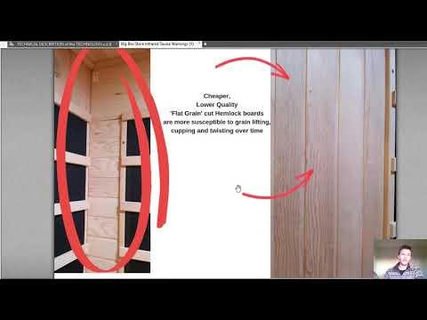 Sketchy Big Box Store Amazon Infrared Saunas Review