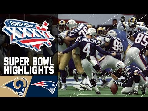 Super Bowl XXXVI: Rams vs. Patriots (#3) | Top 10 Upsets | NFL
