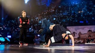 Wing vs Taisuke - Quarter Final - Red Bull BC One World Final 2014 Paris