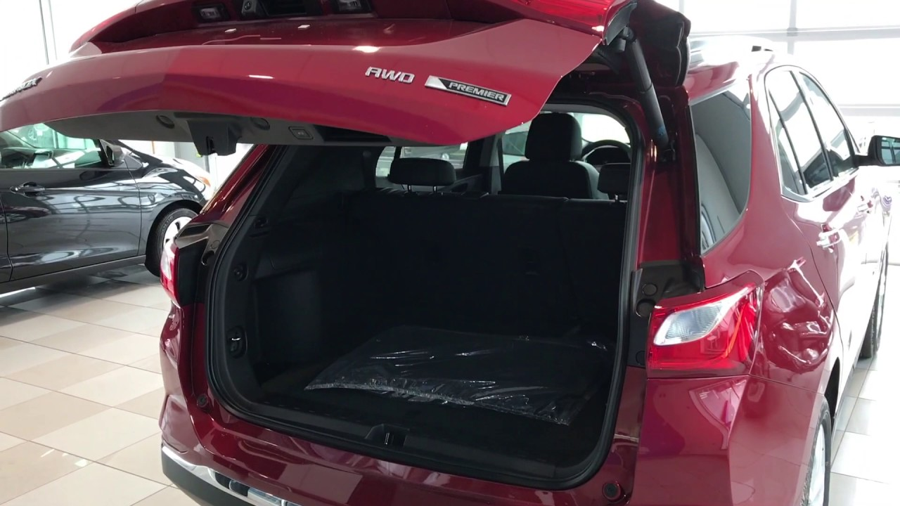 2018 Equinox Hands Free Liftgate - YouTube