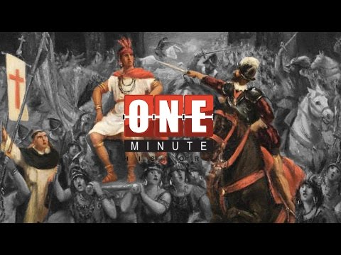 Capture of Atahualpa - The Spanish Inquisition - One Minute History