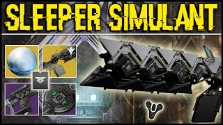Destiny: THE SLEEPER SIMULANT MYSTERY QUEST ITEMS, SECRET ROOM, & FUSION RIFLE RELICS THEORY!