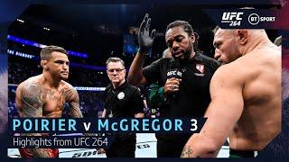 Dustin Poirier v Conor McGregor 3   UFC 264 Highlights