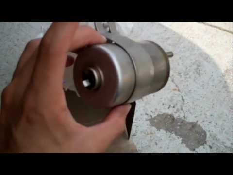 chevy cobalt fuel filter replacement (installation) youtube