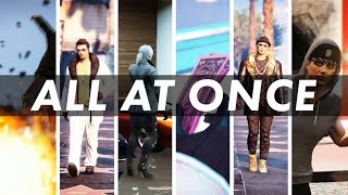 """""""All at Once"""" (GTA 5 Funny Music Video) (2000-2016 Song Mashup)"""