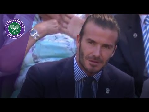 David Beckham and Dan Carter headline Wimbledon 2017 Royal Box