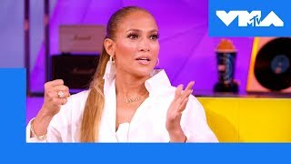 Jennifer Lopez On How Madonna, Janet Jackson & More Influenced Her | 2018 Video Music Awards
