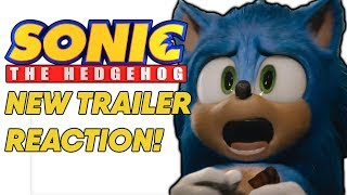 Sonic The Hedgehog NEW TRAILER REACTION! New Sonic Movie Redesign! | ScreenStalker