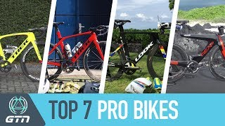 The Best Triathlon Pro Bikes Of 2017