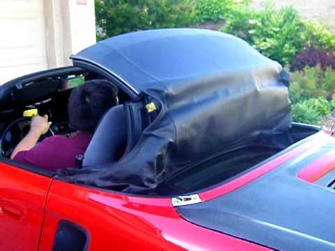 Folding Down Mr2 Spyder Soft Top Youtube