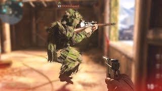 TROLLING CAMPERS & FUNNY FAILS! - (COD WW2 Funny Moments)