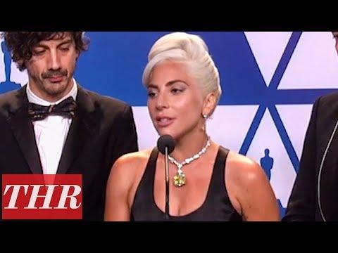 Oscars Winners for 'A Star Is Born' Full Press Room Speeches   THR