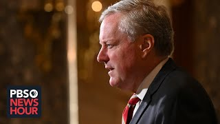 WATCH: White House chief of staff Mark Meadows speaks about Trump's COVID-19 diagnosis
