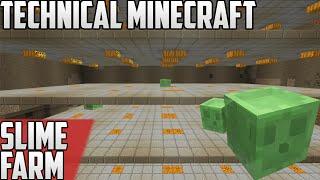 Technical Minecraft (1.10 snapshot) Lp II - Ep: 11 - SLIME FARM