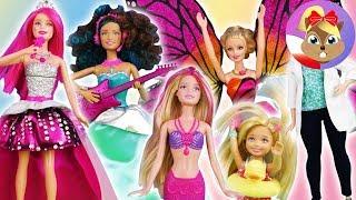Kolekcja lalek Barbie z fajnymi funkcjami