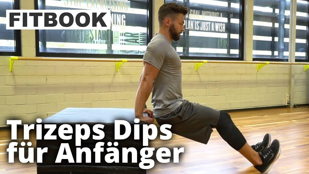 Trizeps Dips I Straffe Oberarme I Howto Youtube
