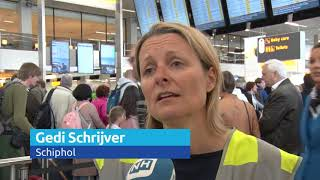 Droomvakanties eindigen in drama door Schiphol-storing: