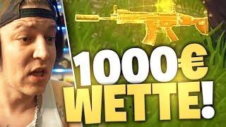 1000€ für eine Goldene Scar (Wette) | SpontanaBlack