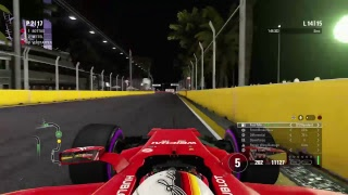 F1 2017 gameplay | Singapore Race