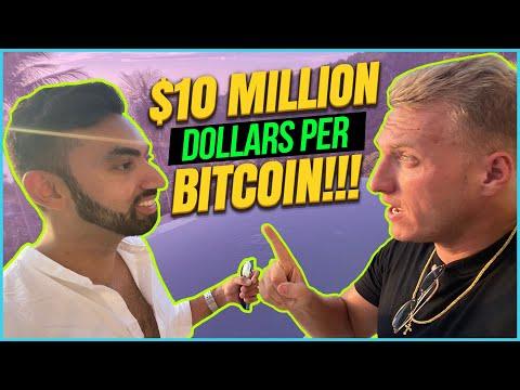 CRYPTO EXPERT PREDICTS $10 MILLION DOLLARS PER BITCOIN!!!