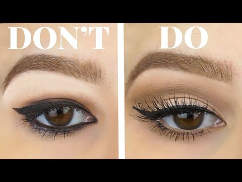 Hooded Eye Makeup Diagram.Hooded Eyes Do S And Don Ts Eyeshadow Eyeliner For Bigger Eyes Makeup Tutorial