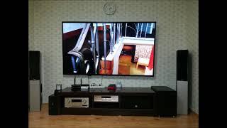 65~84인치 설치사진 슬라이드 대형티브 가정용TV U…
