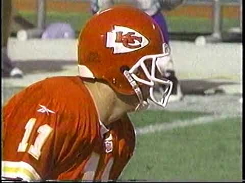(1997) 37 year old Marcus Allen rushes for 78 yds and 2 TDs to lead the Chiefs over the Seahawks