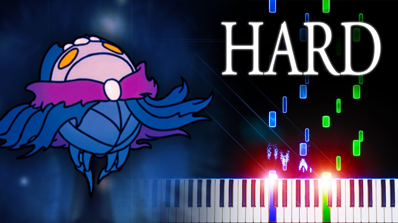Soul Sanctum (from Hollow Knight) - Piano Tutorial