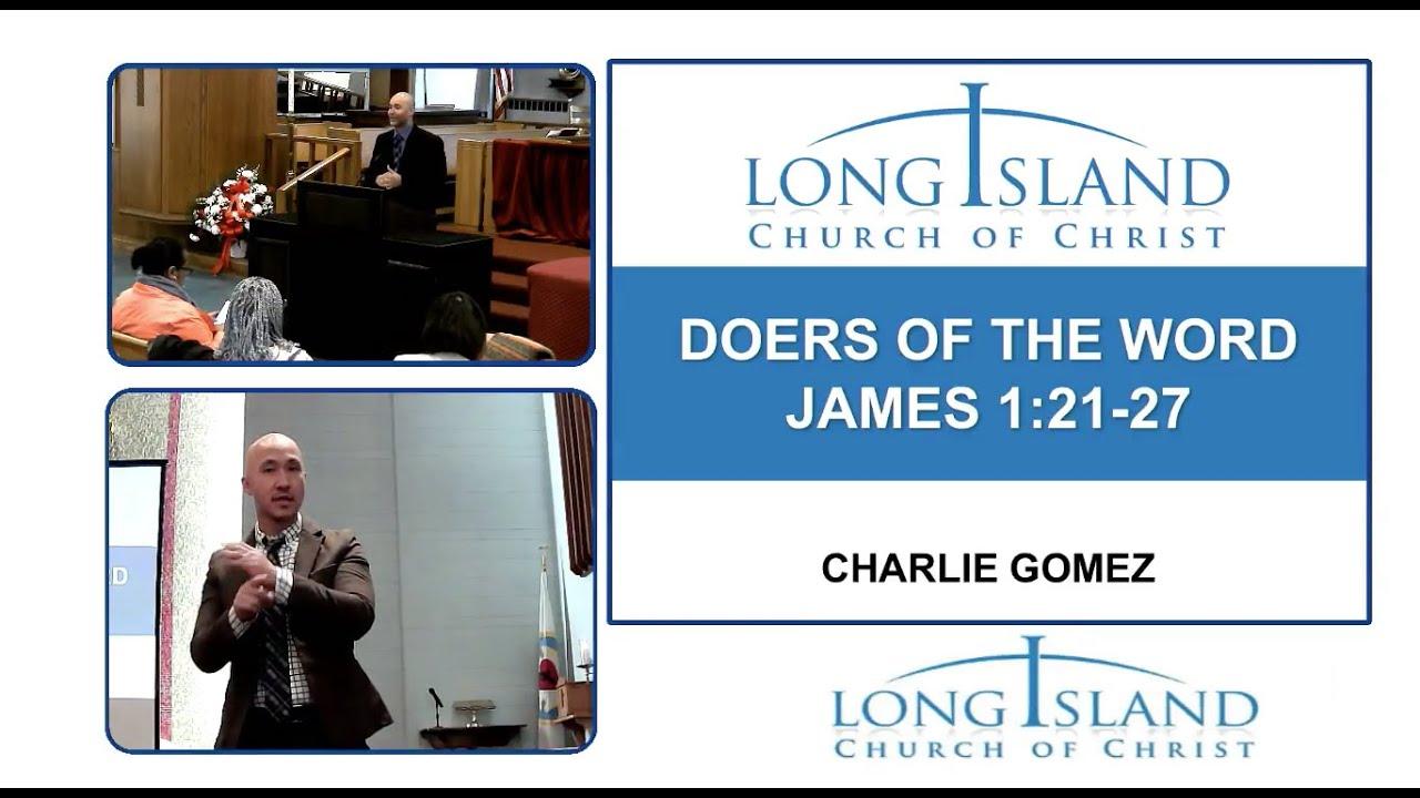 Li Church Of Christ Sunday Worship Service Doers Of The Word Youtube