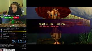The Legend of Zelda: Majora's Mask Any% Speedrun World Record (1:18:18)