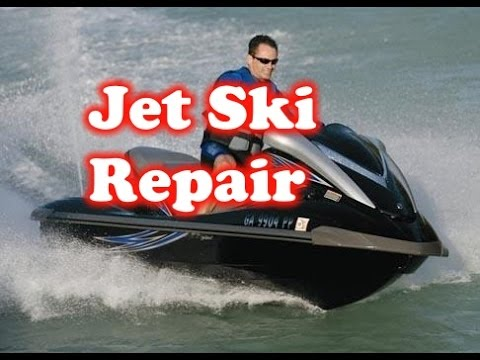 Fix yamaha Jet Ski will not accelerate  Clean out impeller of waveruuner