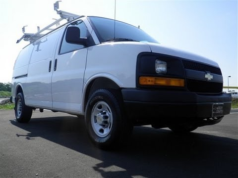 0 Down Lease >> SOLD. 2010 CHEVY EXPRESS 2500 CARGO VAN LADDER RACK 92K AT ...