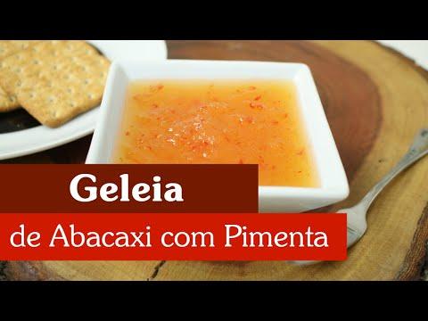 GELEIA DE ABACAXI COM PIMENTA, UMA DELÍCIA!