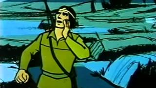Lone Ranger 1966 - The Ghost Tribe of Comanche Flats - Visually Stunning Cartoon!