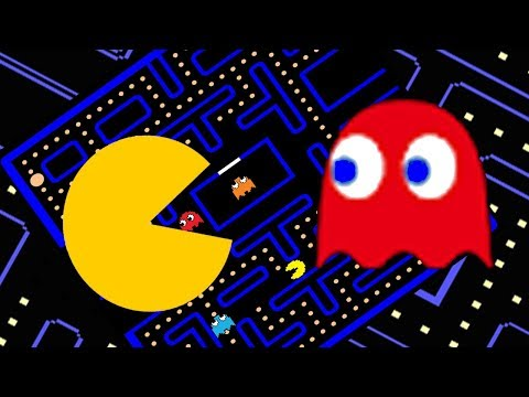 Stop Motion - PacMan Classic Arcade Game || Blink Monkey