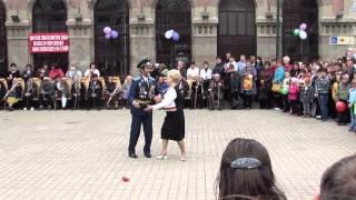 Опубликовано видео грандиозного салюта в честь Дня Победы в Москве