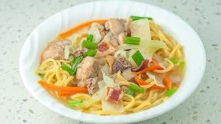 Download lagu FILIPINO Chicken Noodle Soup - Panlasang Pinoy