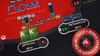 $98,677.60 to 1st! WCOOP $1,050 Turbo!