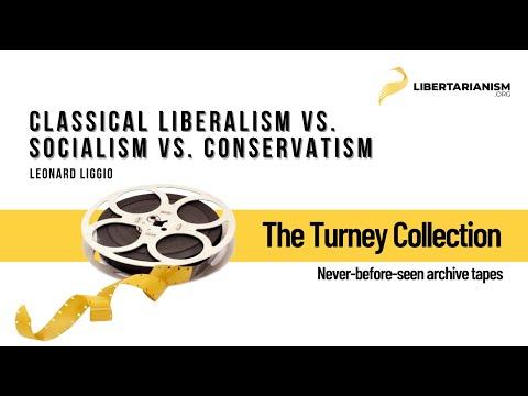 Classical Liberalism vs. Socialism vs. Conservatism (Leonard Liggio)