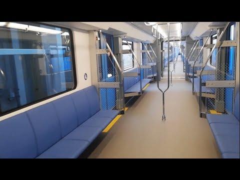 В метро Минска будут ходить электропоезда нового дизайна