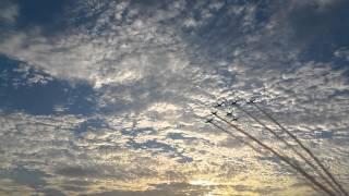 Santa Monica pier jets 9/11/2015