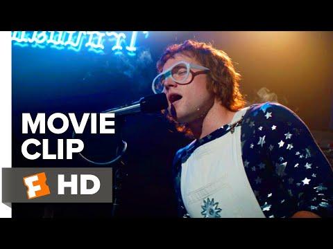 Rocketman Movie Clip - Crocodile Rock (2019) | Movieclips Coming Soon