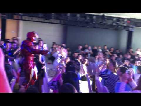 Killerbody Hero Iron Man MK7 In Shanghai International Film Festival, 2016