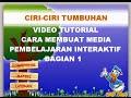 Video Tutorial, Cara Membuat Media Pempelajaran Interaktif Bagian 1 Full HD