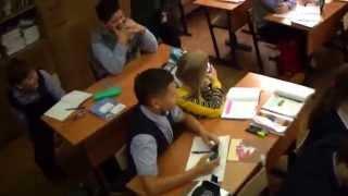 Танцы на уроке русского языка