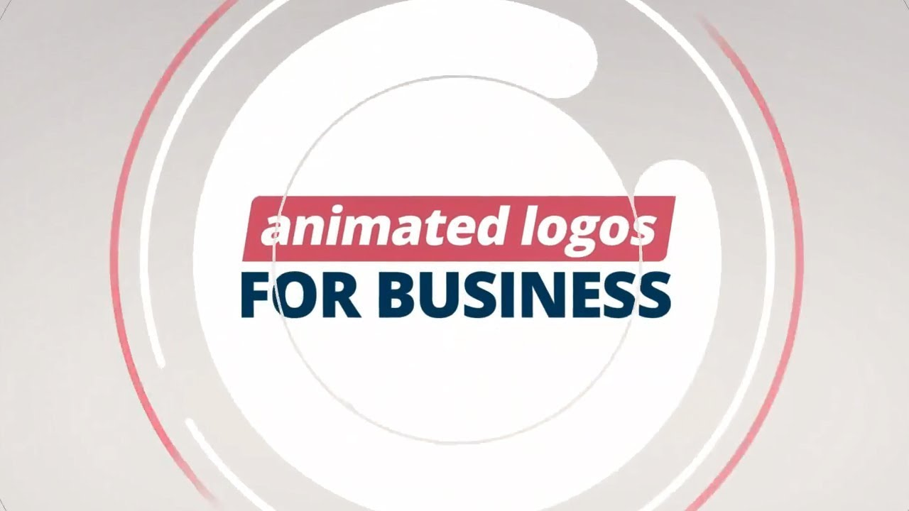Animated Business Logo Templates